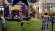 Courtyard in garage band