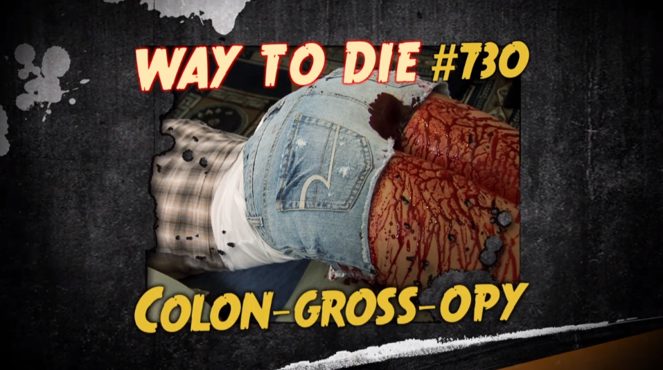 colon gross opy 1000 ways to die wiki fandom powered