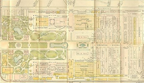 Citations of general resources 1889 exposition for Expo paris mars