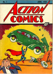 Action comics number 1