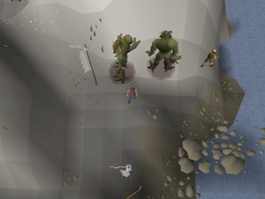 Hot cold clue - Pirates' Cove
