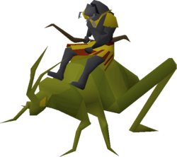 Locust rider (ranged)