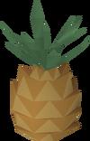 Tenti pineapple detail