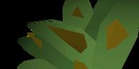 Grimy irit leaf