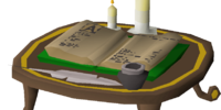 Gilded adventure log