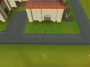 Hot cold clue - south of the Golden Field