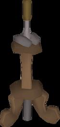 Mahogany lever built