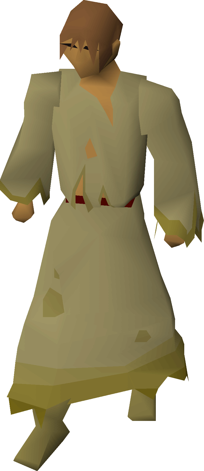 Slave robes equipped