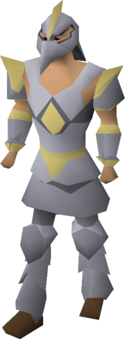 Armadyl armour equipped