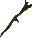 Mud battlestaff detail
