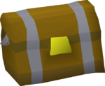 Heavy casket detail