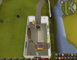 Emote clue - wave falador gem store