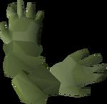 Karamja gloves 2 detail
