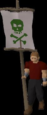 Phasmatys flag equipped