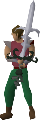Bandos godsword (or) equipped