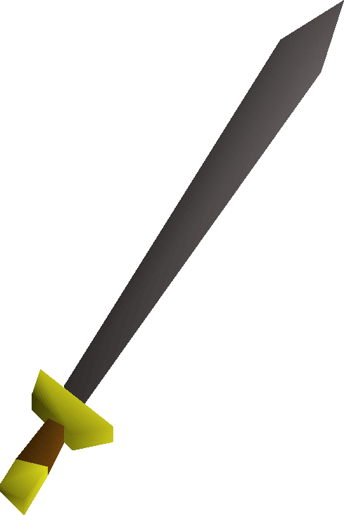 Iron sword detail