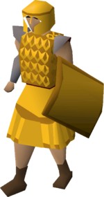 Gilded chainbody equipped