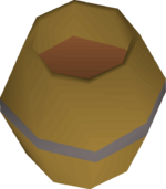 Apple barrel detail