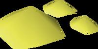 Volcanic sulphur