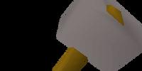 Steel warhammer