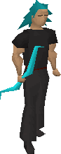 Cursed goblin bow equipped