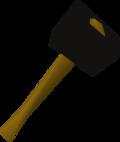 Black warhammer detail