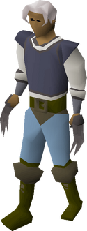 Iron claws equipped
