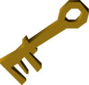 Giant key detail
