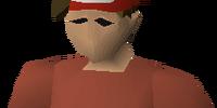 Inverted santa hat