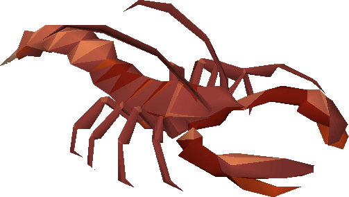 Giant lobster (Ghosts Ahoy)