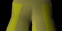 Gold elegant legs