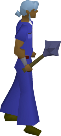 File:Mithril mace equipped.png