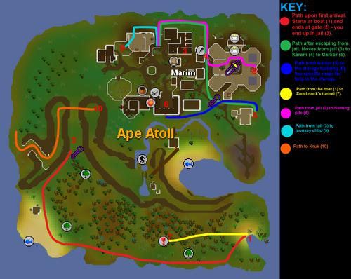 Monkey Madness map