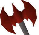 Dragon thrownaxe