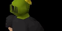 Steel heraldic helm (Jogre)