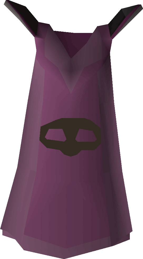 Thieving cape detail