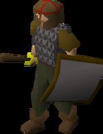 Billy, a guard of Falador