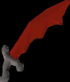 Dragon scimitar detail