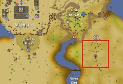Uzer Hunter area location