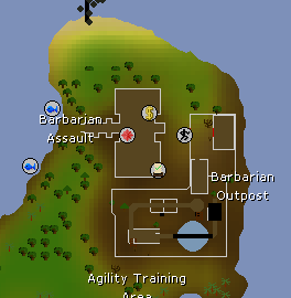 Barbarian Outpost map