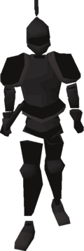 Animated Black Armour