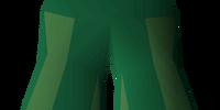 Green elegant legs