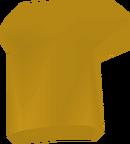 Golden chef's hat detail