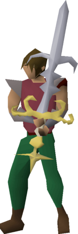File:Saradomin godsword (or) equipped.png