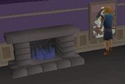 Fireplace (2014 Hallowe'en event)