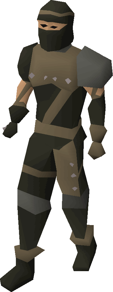 Rogue armour equipped