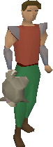 Chinchompa equipped