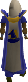 Magic cape(t) equipped