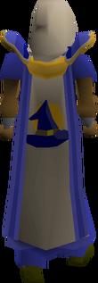 Magic cape(t) equipped
