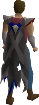 Team cape x equipped